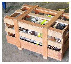 梱包 輸出 セルフ梱包 すかし箱