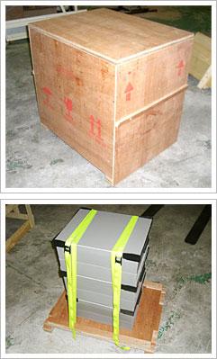 梱包 輸出 セルフ梱包 密閉箱