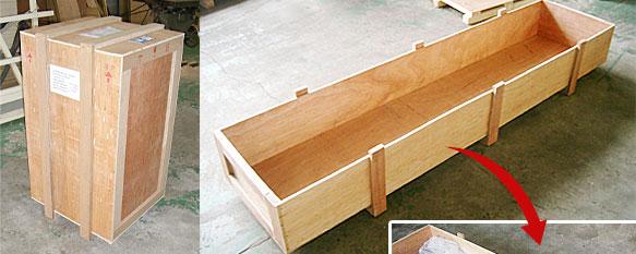 セルフ梱包 胴桟箱 木枠梱包