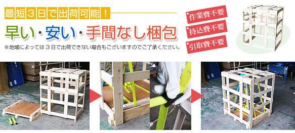木枠梱包 国内梱包 輸出梱包