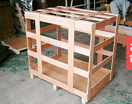 木枠梱包 セルフ梱包 木箱
