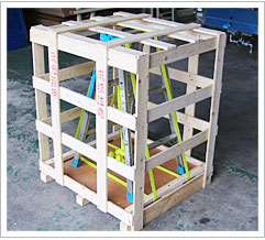 国内木枠梱包 セルフ梱包